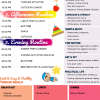 Simple Daily Toddler Schedule Pink