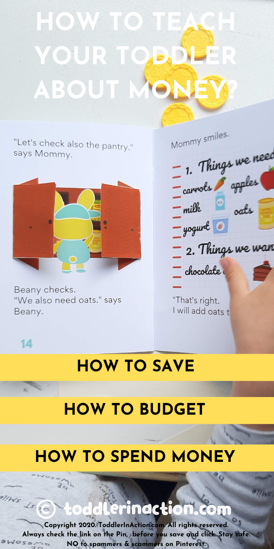 BEANY AND THE GROCERY LIST- HOW TO TEACH YOUR TODDLER ABOUT MONEY?