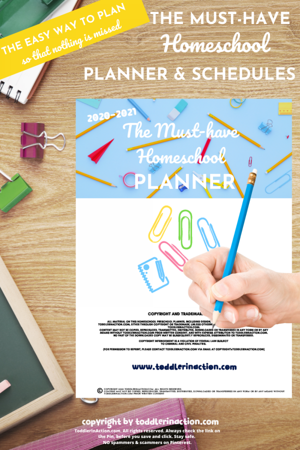 The Must-Have Homeschool Planner Printable 54 Pages