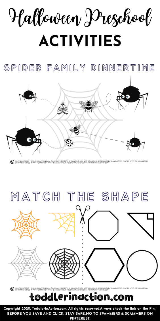 Halloween Homeschool Preschool Printables