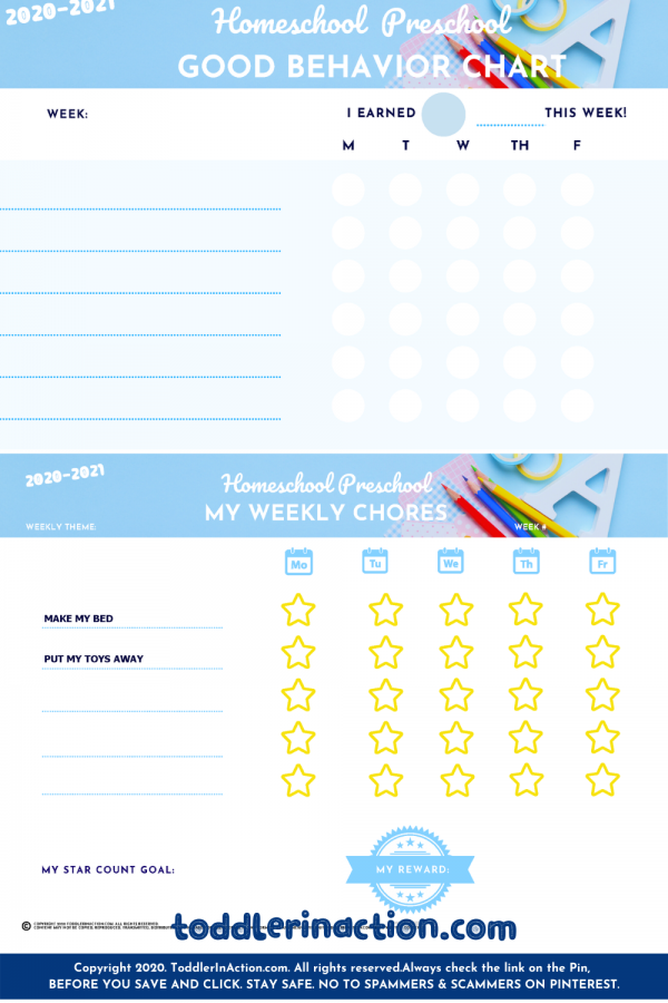 HOME SCHOOL Preschool SCHEDULE DAILY ROUTINES PRINTABLE