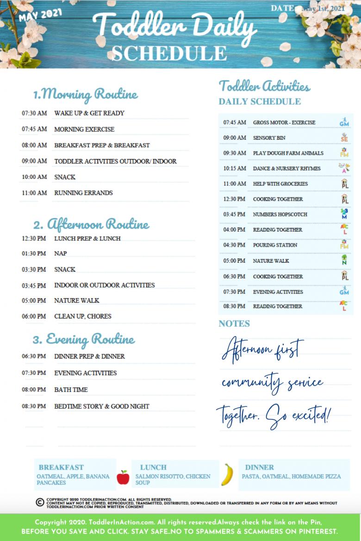 SAHM Toddler Daily Schedule6