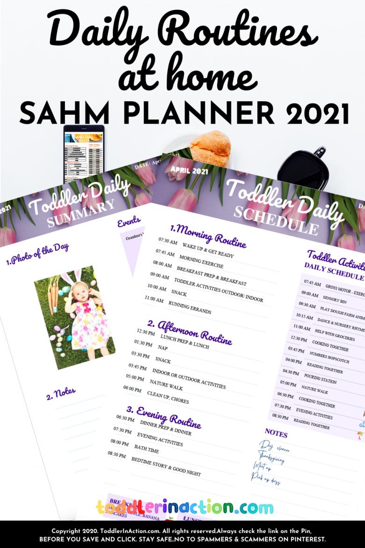 TODDLER DAILY SCHEDULE SAHM Schedule4