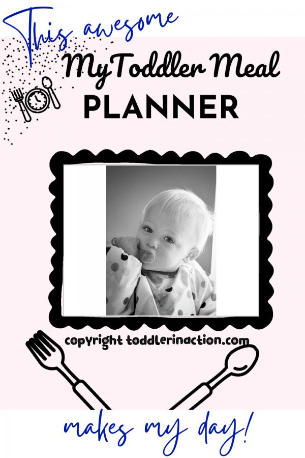 Weekly Toddler Meal Plan, Toddler Meal Recipe Cards