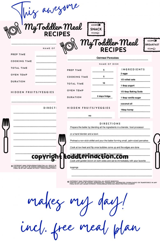 Toddler Meal Planner1