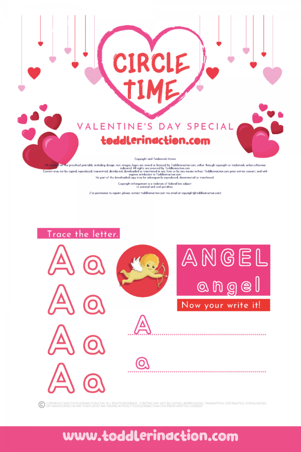 VALENTINES DAY Activities Busy Book Printable
