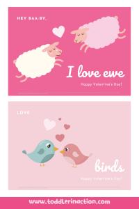 Valentine's Day Preschool Worksheets DIY Cards8